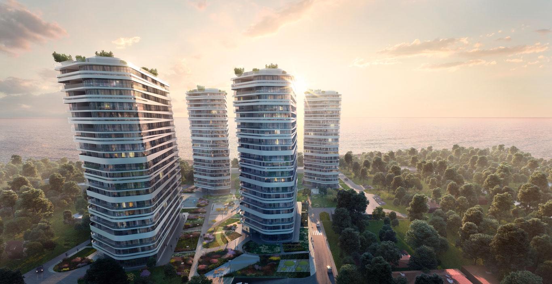 Огляд однокімнатних апартаментів у новому комплексі KANDINSKY Odessa Residence 2